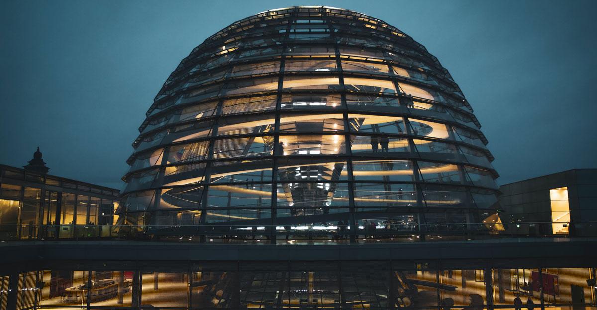 Glaskuppel Bundestag