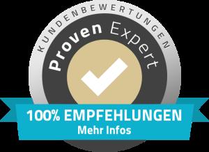 Kundenbewertungen bei Proven Expert