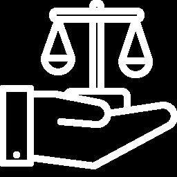 Waage des Rechts